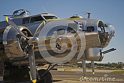 B17 WWII Plane