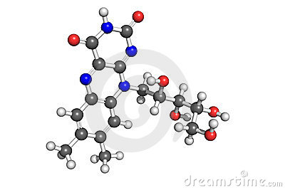 витамин структуры b2
