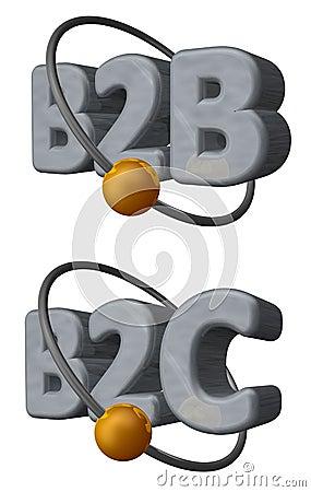 B2b b2c