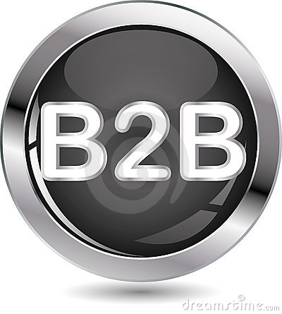 B2B sign button
