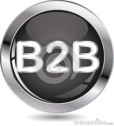 B2B sign button