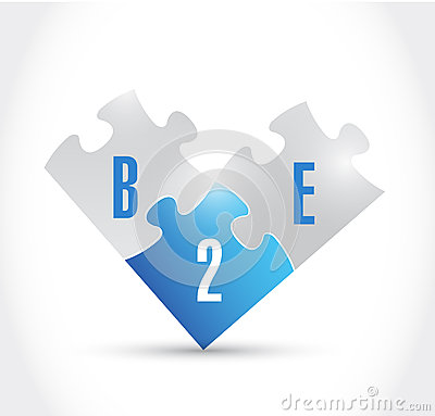 Free B2e Puzzle Pieces Illustration Design Stock Photos - 44229123