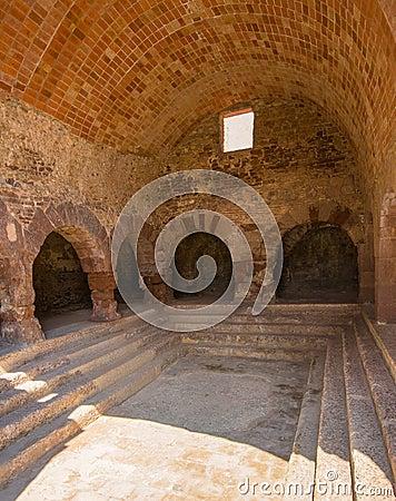 Baños Públicos De Los Romanos Antiguos Imágenes de archivo ...