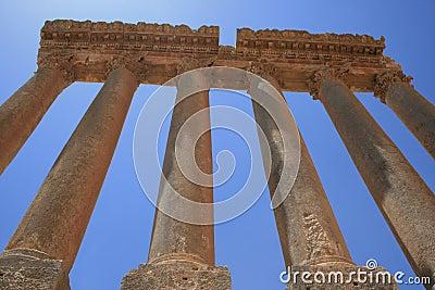 Baalbeck ruins Lebanon Temple of Jupiter