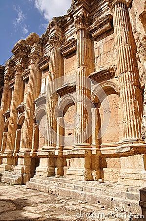 Baalbek baahus temple; Lebanon