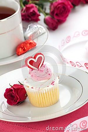 Babeczki dzień serca valentine