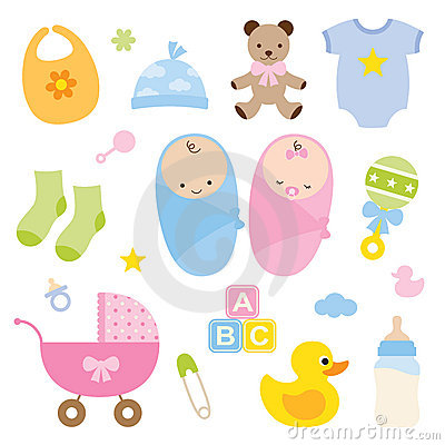 Free Babies And Baby Products. Royalty Free Stock Image - 17865136