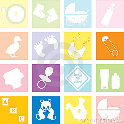 Free Baby Accessories And Toys Stock Image - 14996361