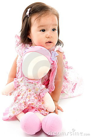Free Baby And Doll Stock Images - 15928774