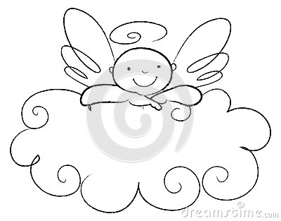 Praying Angel Clipart