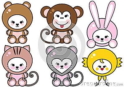 Baby animals,