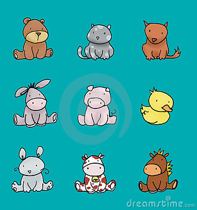 Baby animals colors 2