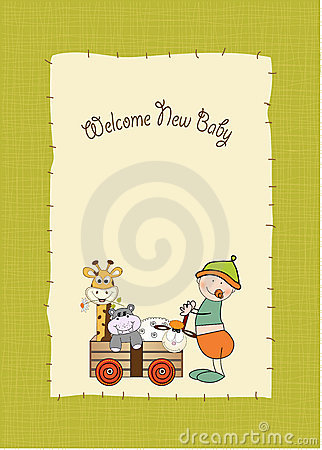 Baby anniversary card