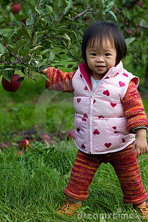 Baby Apple Picking