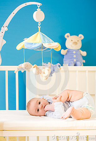 Free Baby At Nursery Royalty Free Stock Photos - 4687238
