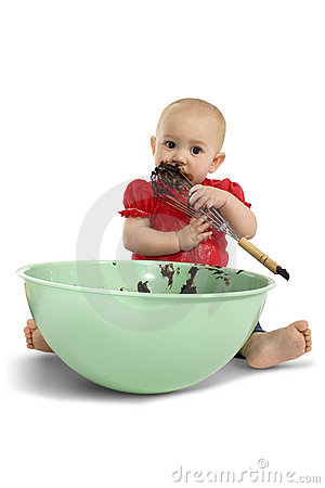Free Baby Baking Stock Photography - 1380022