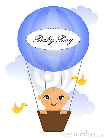 Baby in baloon