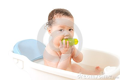 Baby In a Bath