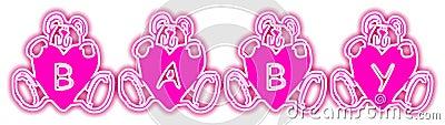 Baby Bears Pink