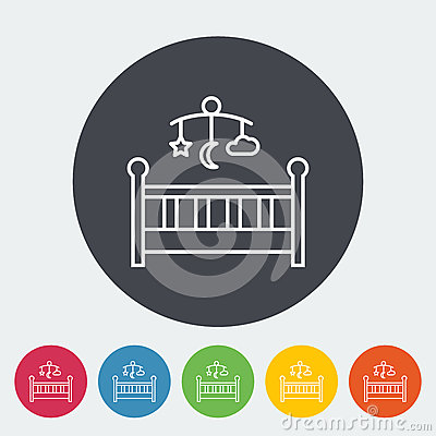Free Baby Bed Stock Photo - 93728120