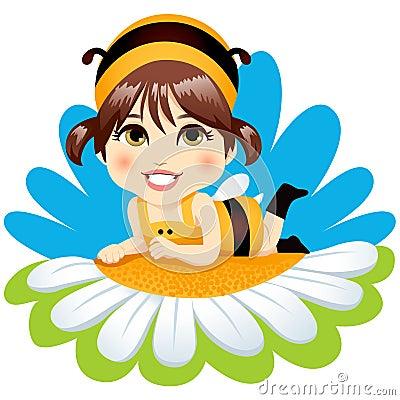 Baby Bee Girl