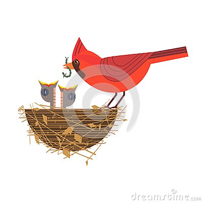 Free Baby Birds In Nest Stock Images - 110156964
