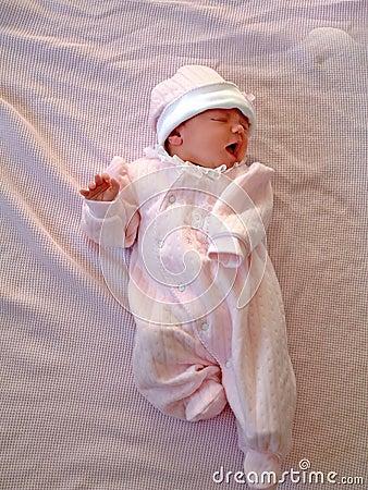 Baby on Blanket