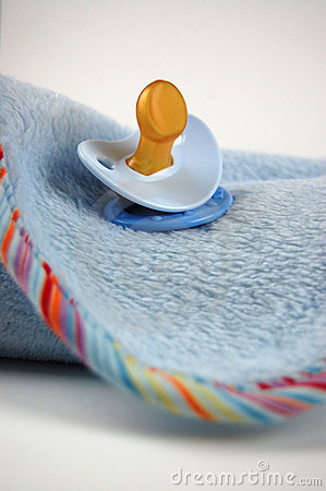 Baby Blanket and Pacifier