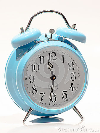 Baby Blue old clock