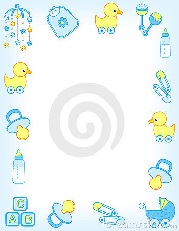 Free Baby Border Royalty Free Stock Photo - 14556785