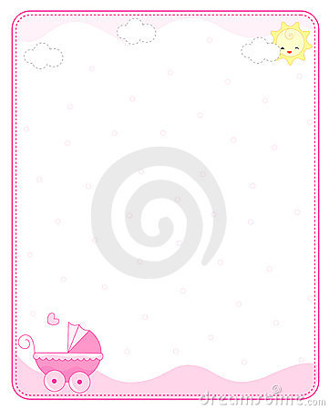 Free Baby Border / Frame Stock Images - 10633684