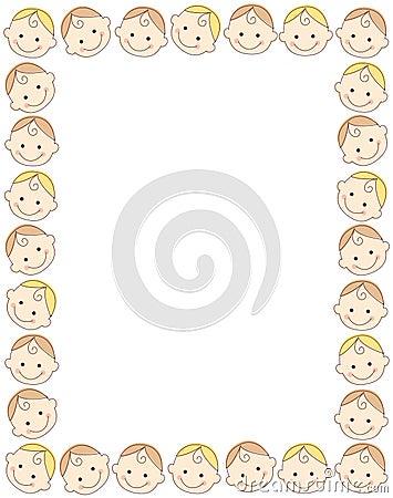 Baby border / frame
