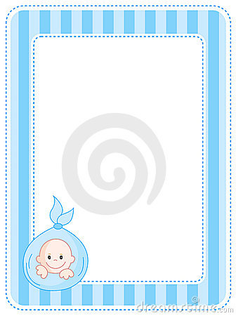 Baby Picture Frame With Footprint