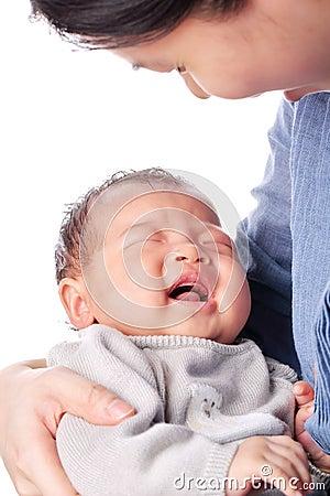 Baby in the bosom