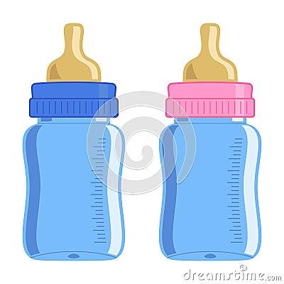 Free Baby Bottle Royalty Free Stock Photo - 17320085