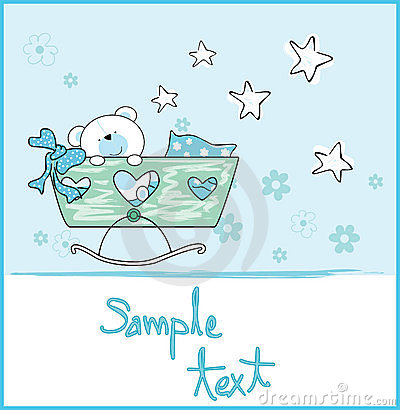 Free Baby Boy Arrival Royalty Free Stock Photos - 8533188