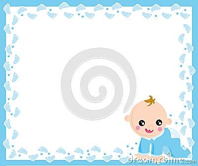 Baby boy frame