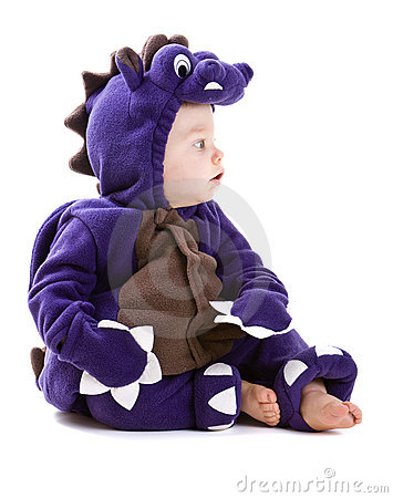 Free Baby Boy In Costume Stock Image - 6615561