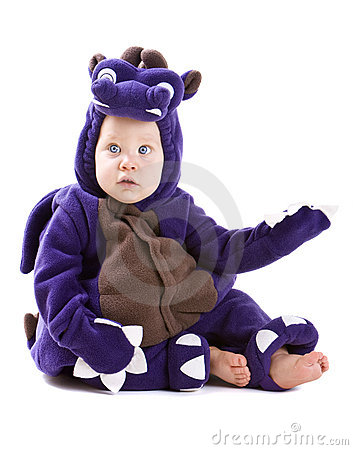 Free Baby Boy In Costume Royalty Free Stock Photo - 6615565