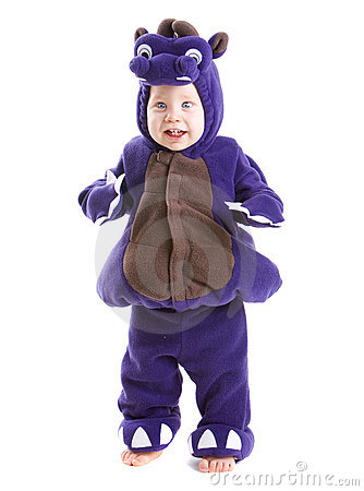 Free Baby Boy In Costume Royalty Free Stock Images - 6615579