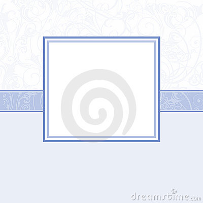 Baby Boy scrapbook page - Birth Announcement - 3
