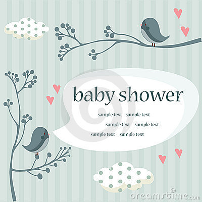 Free Baby Boy Shower Royalty Free Stock Photos - 18063038