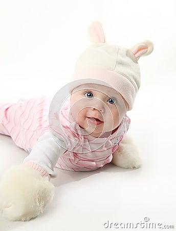 Free Baby Bunny Royalty Free Stock Photo - 17892125