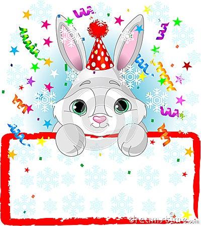 Baby Bunny New Year