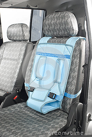 A baby car seat