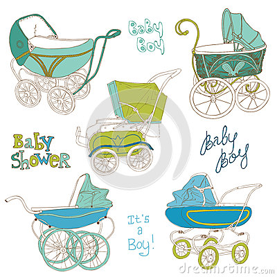 Baby Carriage Set