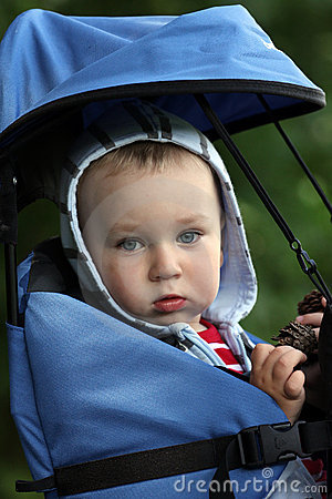 Baby in carrier