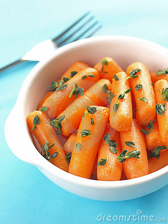 Baby carrot salad