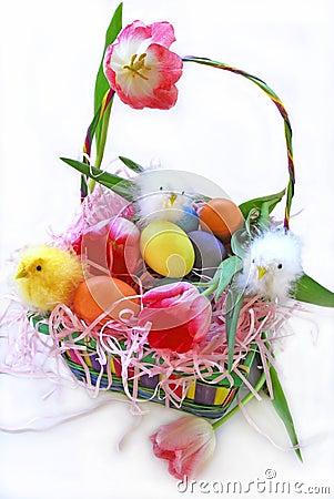 Baby Chicks Easter Basket