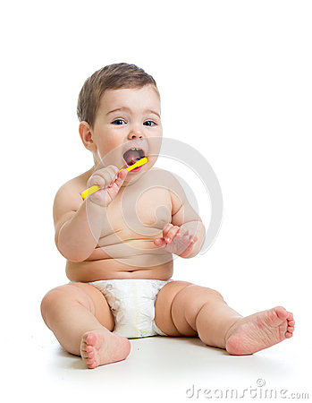 how to clean white tongue on baby